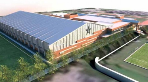 Rendering of multipurpose facility