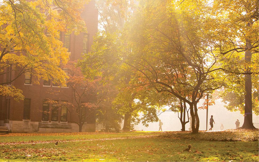 photo of Vanderbilt's campus