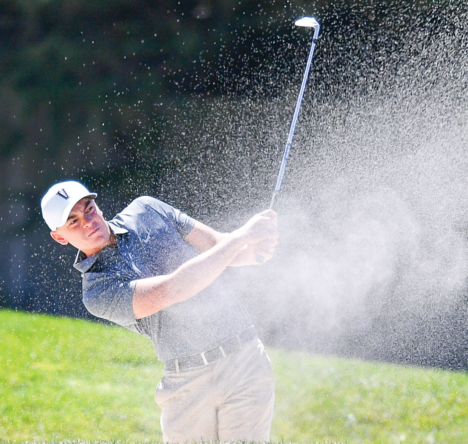 Encouraged by the vision of then-new Men's Golf Head Coach Scott Limbaugh, Theo Humphrey chose to attend Vanderbilt, helping lead the team to its first SEC championship in 2017. (VANDERBILT ATHLETICS)