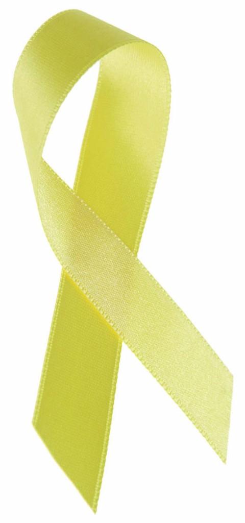 photo of yellow ribbon