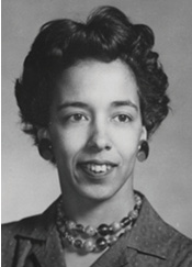 """Y.Y."" Clark at the beginning of her groundbreaking career. Photo courtesy Society of Women Engineers"