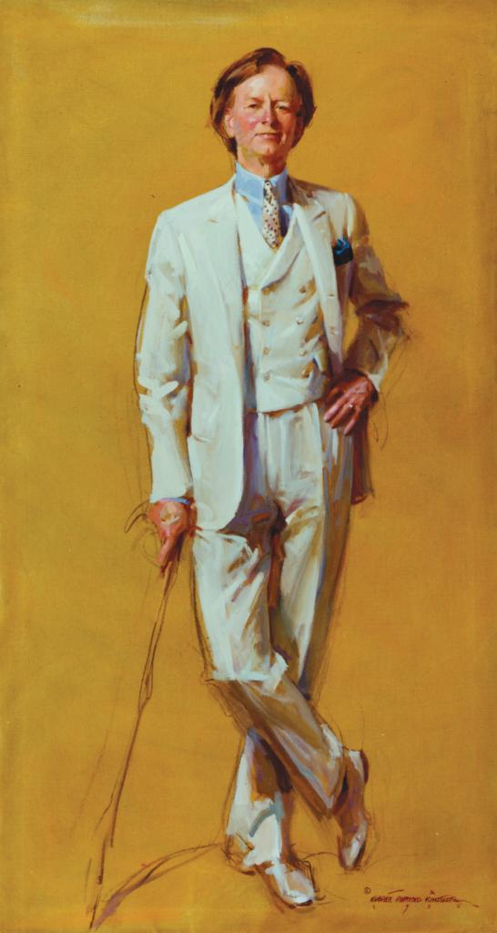 Tom Wolfe by Everett Raymond Kinstler