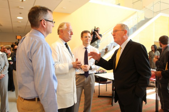 Alexander's visit highlights efforts to confront Ebola