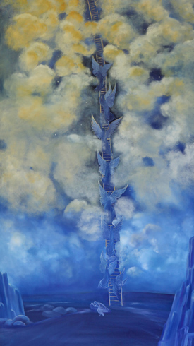 """Jacob's Ladder"" by Helen LaFrance"