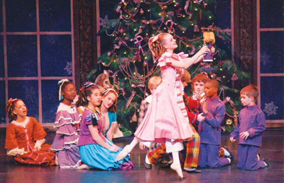 """Nashville's Nutcracker"" (image courtesy of Nashville Ballet)"