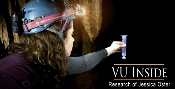 A VU Inside: Professor explores caves for clues to climate change